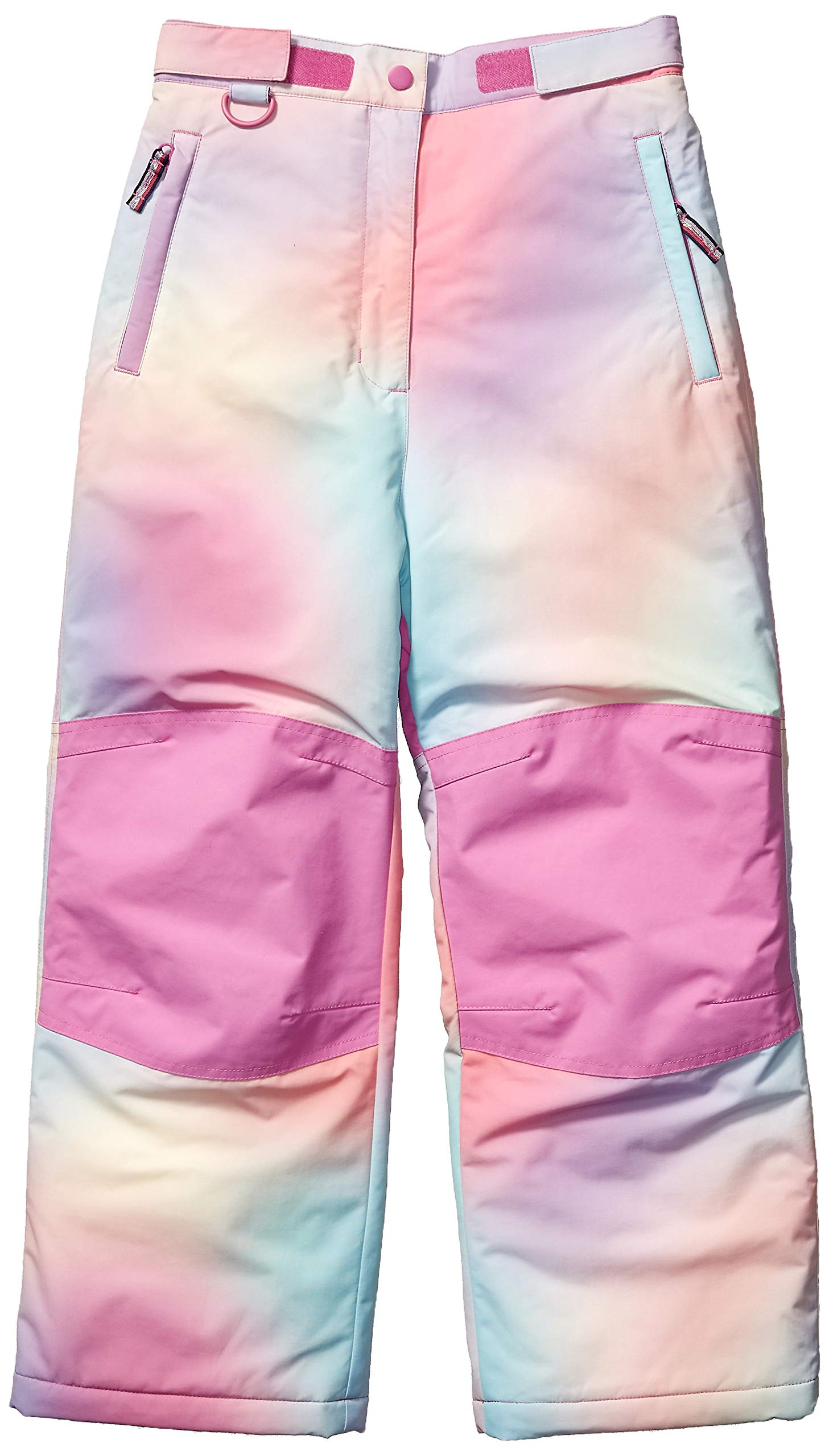 Amazon Essentials Girls' Little Water-Resistant Snow Pant, Ombre Pink, Small by Amazon Essentials
