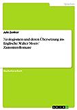 Neologismen und deren Übersetzung ins Englische. Walter Moers' Zamonien-Romane