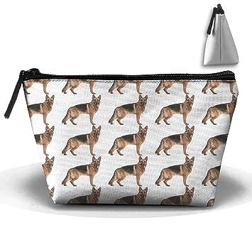 Amazon.com: CBdKc85 German Shepherd Makeup Bags - Portable ...