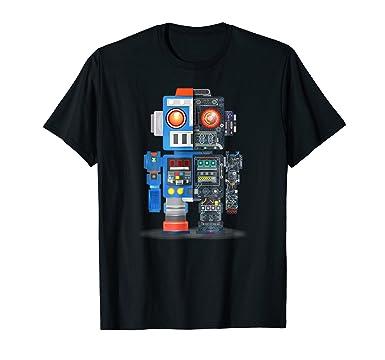 Amazon Com Robot T Shirt Robotics Club Engineering Electric Circuit