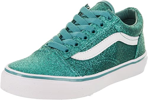 | Vans Kids Glitter Old Skool Turquoise
