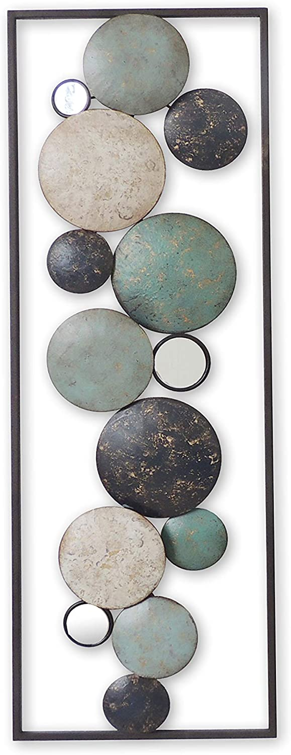 All American Collection New Modern Chic Aluminum/Metal Wall Decor Frame 12