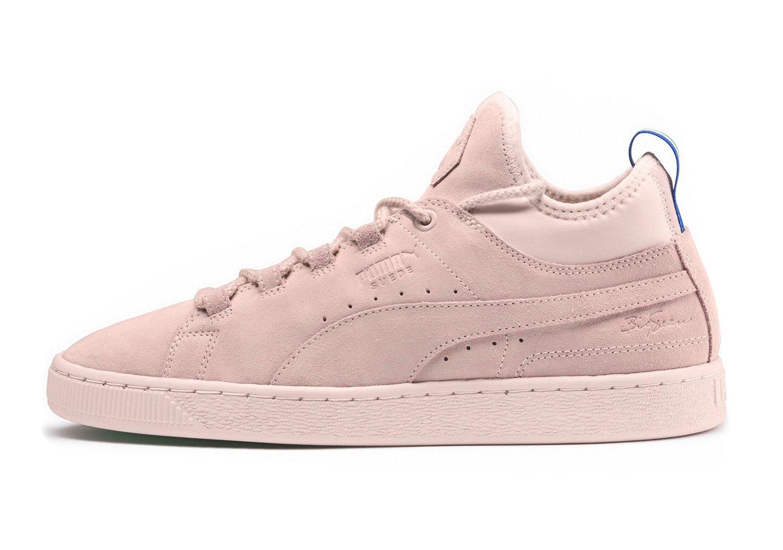 PUMA BIG SEAN Suede Mid Herren Sneaker Pink  38.5 EU|Shell