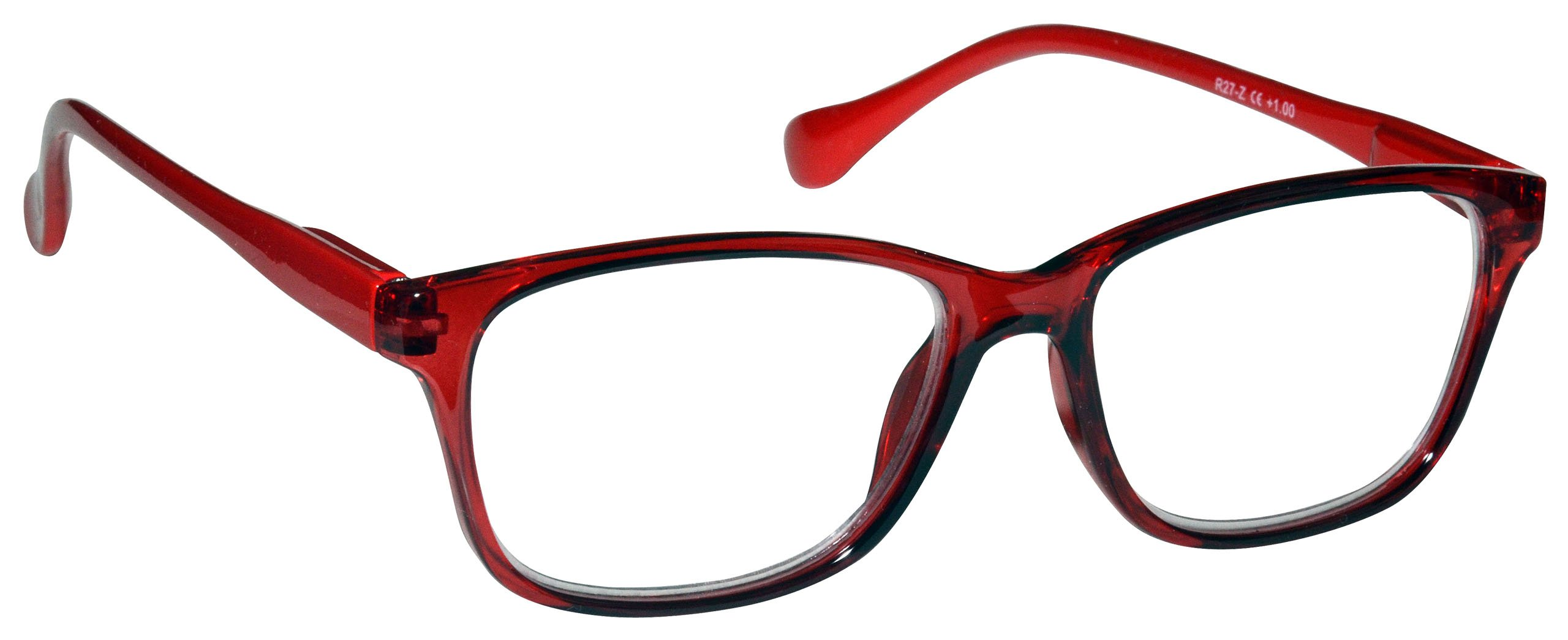 5f895f1ac0a9 The Reading Glasses Company Red Lightweight Readers Designer Style Mens  Womens Spring Hinges R27-Z