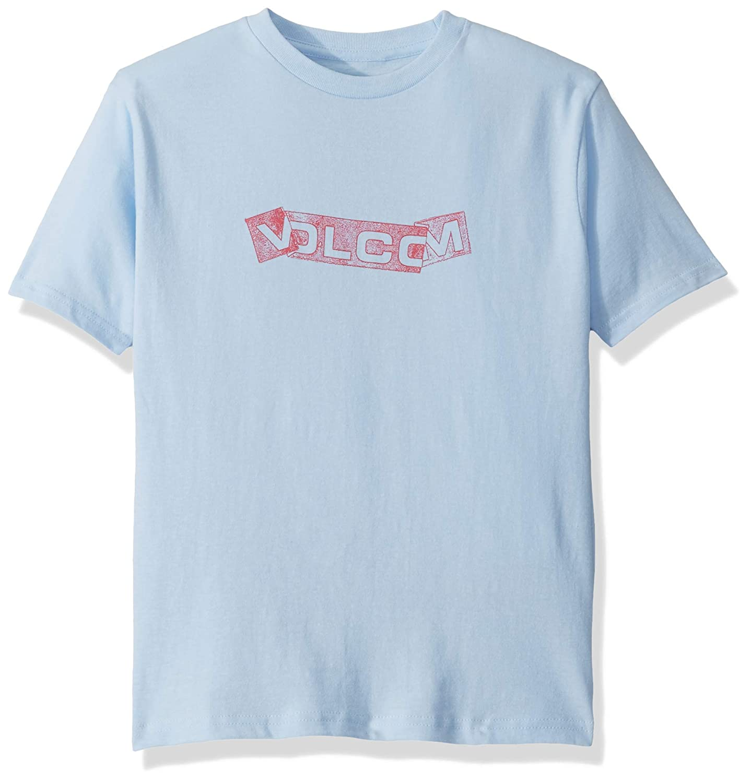 Volcom Big Boys Basic Fooled Short Sleeve Tee