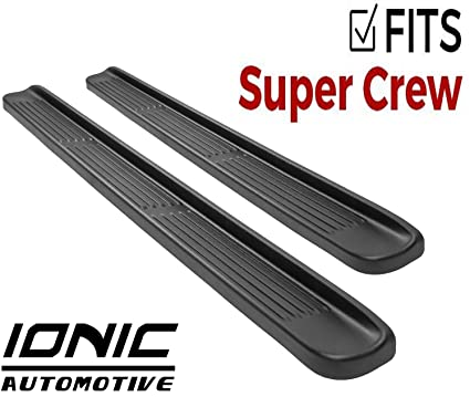 Ford Running Boards >> Ionic Factory Style Fits 2015 2019 Ford F150 2017 Up Super Duty F250 F350 Supercrew Cab Only Running Boards Side Steps 38009083052