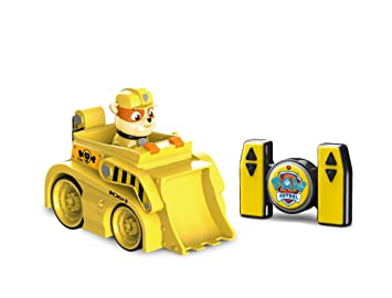 Paw Patrol My First RC Rubble Bulldozer Rescue Racer Remote Control for  Ages 3 and Up 8e528f838b5a