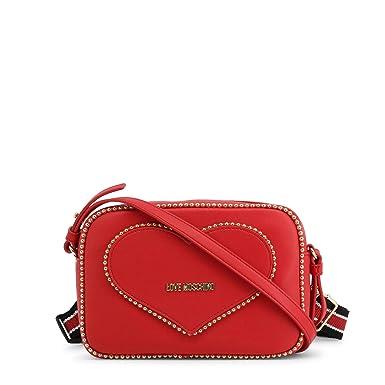 Love Moschino Borsa A Mano Donna, Unica, Rosso: Amazon.it