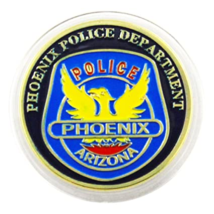 Amazon com: Art Crafter USPD Phoenix Police Challenge Coin Badge