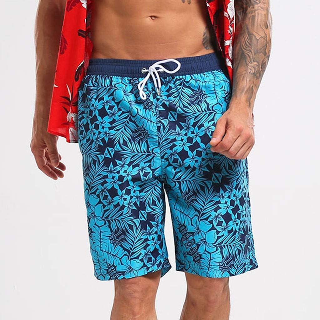 VonVonCo Mens Swim Drawstring Trunks Quick Dry Beach Surfing Running Swimming Shorts M-XXXL