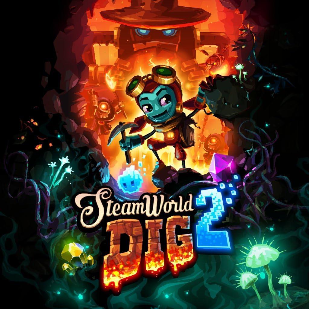 Amazon com: Steamworld Dig 2 (Cross-Buy) - PS4 [Digital Code]: Video