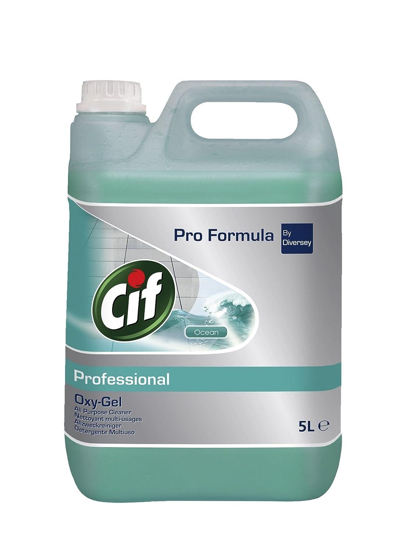 Cif Professional Cif Pro Formula Oxygel Ocean, 5L (pack of 2) (Pack of 2) Diversey 7517870