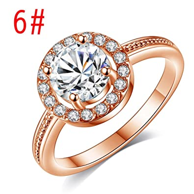 Amazon Com Rings Valentine S Day Gift Women Pendant Jewelry