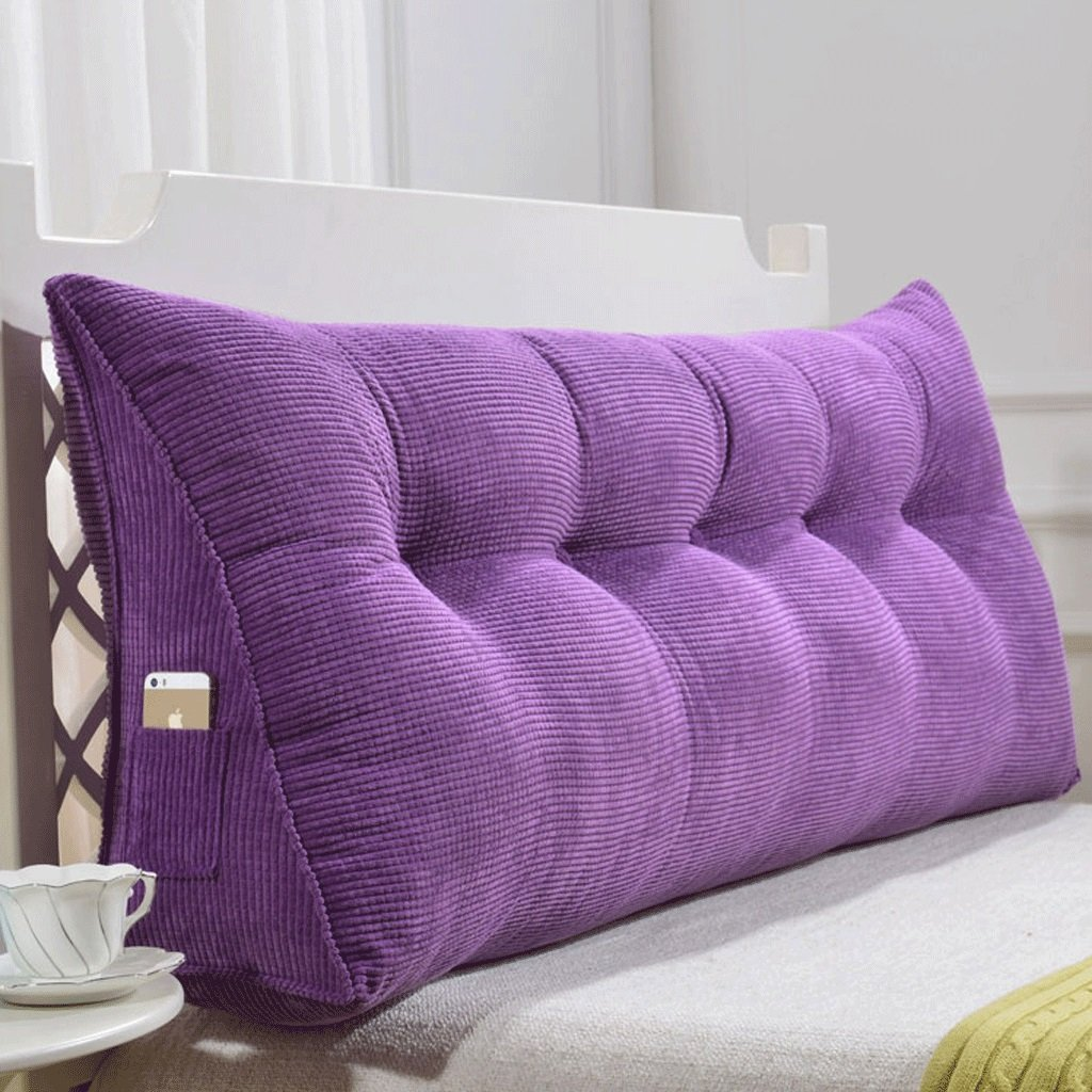 GXY Doppel Zurück Sofa Headboard Soft Pack Tatami Bett Kissen Lendenkissen Taille Kissen (Farbe : I, größe : 150cm)