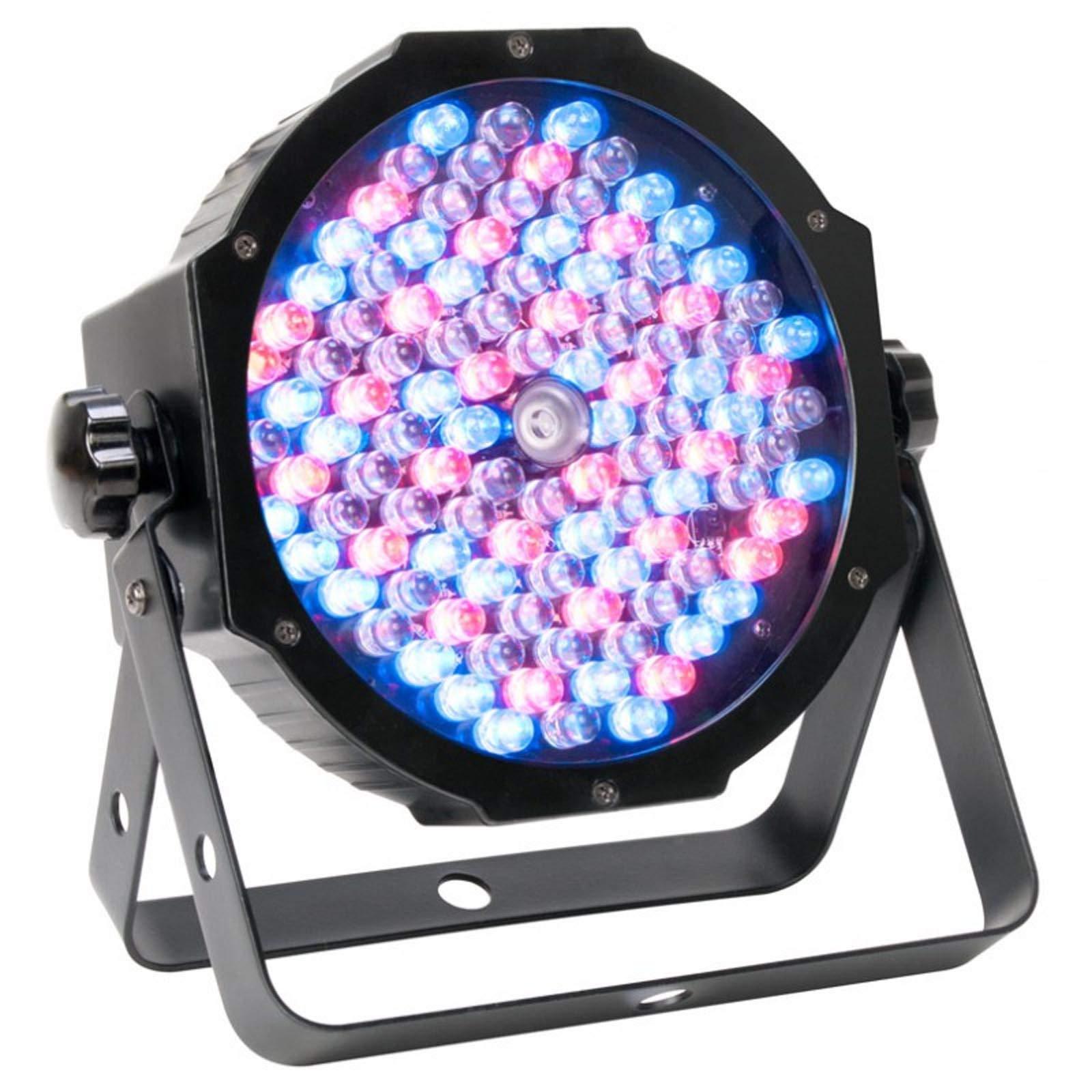 American DJ ADJ Mega Par Profile Plus LED RGB+UV Slim Par Can Wash Effect Light (6 Pack) by ADJ (Image #2)