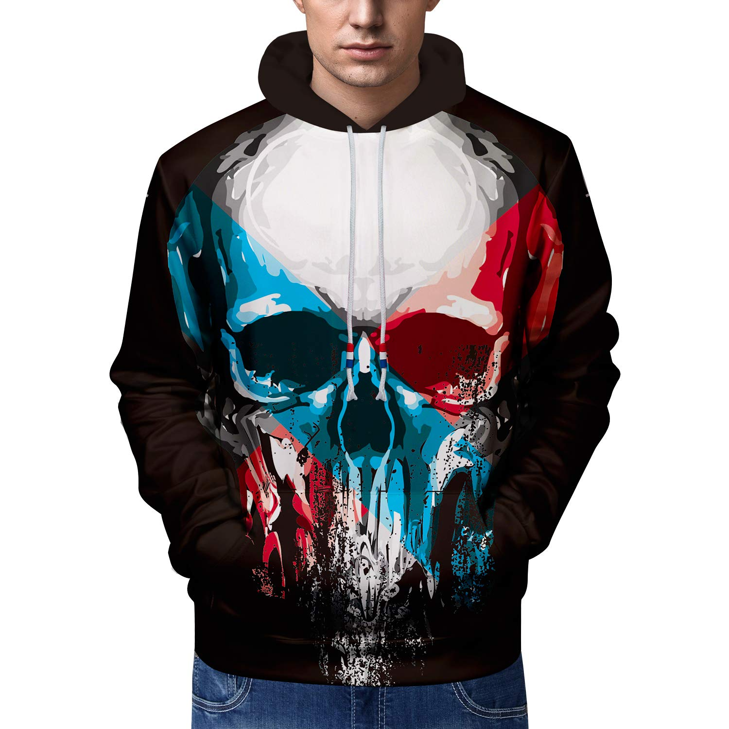 Weimostar Unisex 3D Printed Hoodies with Pockets