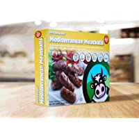 Mediterranean Meatballs: Halal, Premium Black Angus Beef, All Natural, Grass Fed - 1.5 lbs, 16 pieces (Frozen)