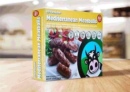 Köfte Revolution Mediterranean Meatballs