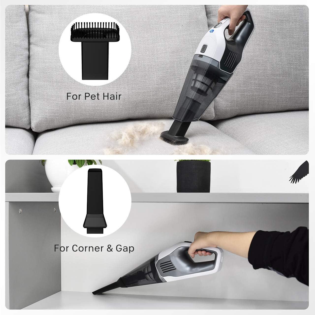 Estado Recargable Hand Held Vacuum Cleaner Seco Húmedo batterry 4.8V Nuevo