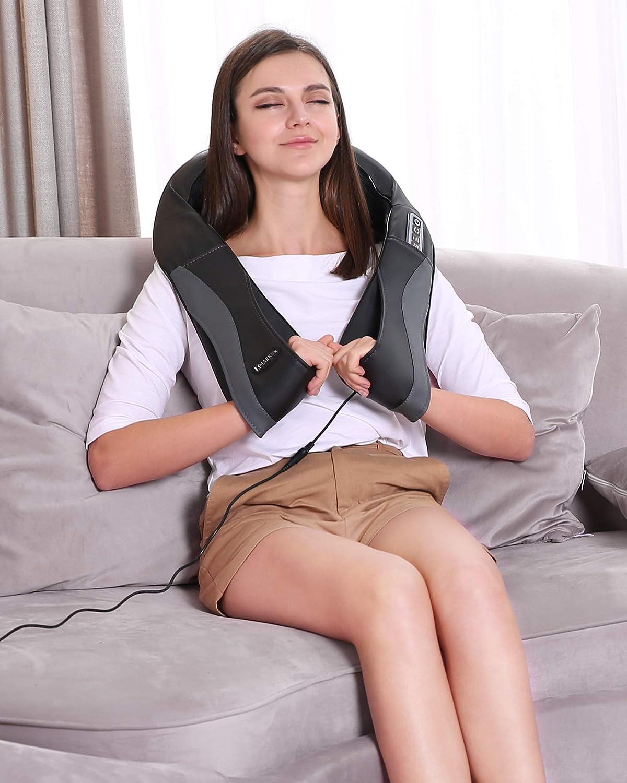 Shiatsu Neck Shoulder Massager for Back with Heat Function