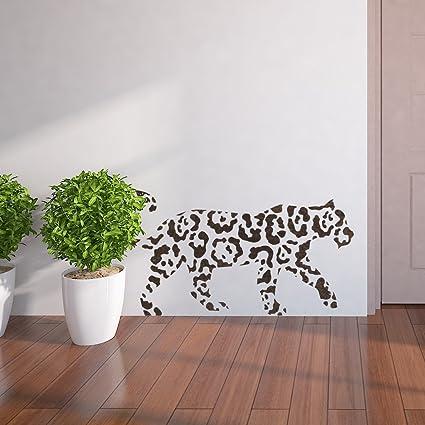 J BOUTIQUE plantillas de pared plantillas abstracto leopardo ...