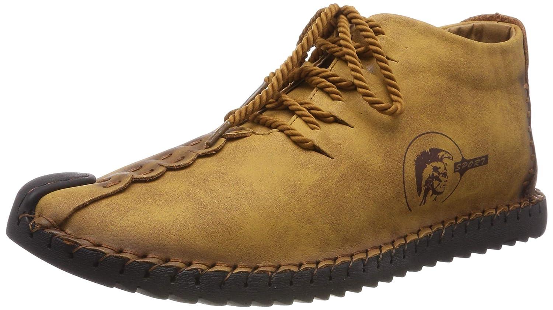 Botas de Nieve de los Hombres Zapatos de Senderismo Ligeros Calientes del Invierno Zapatillas de Deporte Antideslizantes al Aire Libre del Tobillo con Completamente Forro de la Piel