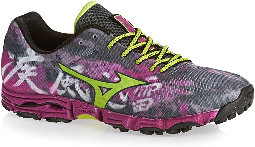 Mizuno Wave Hayate Las Mujeres de Trail Zapatillas de Running ...