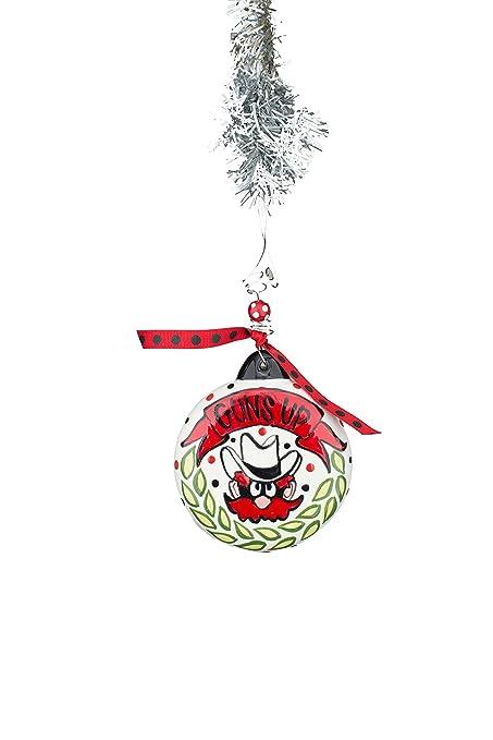 glory haus texas tech puff ornament multicolor - Texas Tech Christmas Decorations