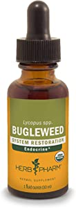Herb Pharm Bugleweed Liquid Extract for Endocrine System Support - 1 Ounce