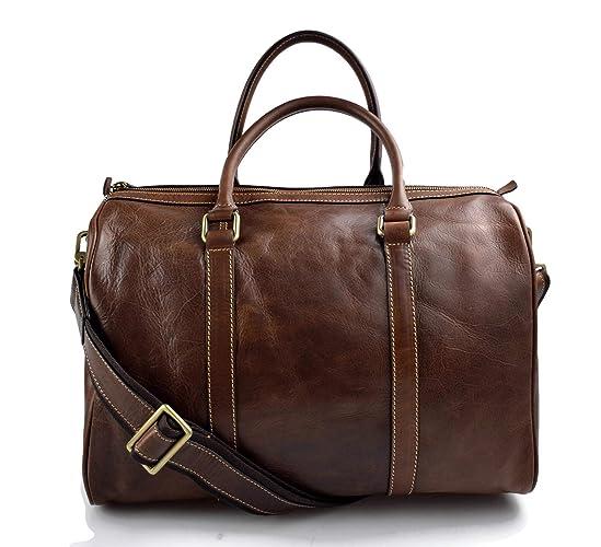 Kleine Reisetasche Leder Braun Preisvergleich • Die besten