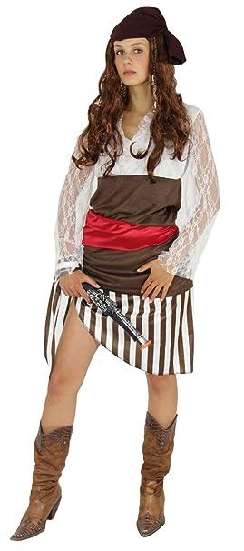 Foxxeo Hermoso Disfraz de Pirata para Damas Carnaval Falda Pirata ...