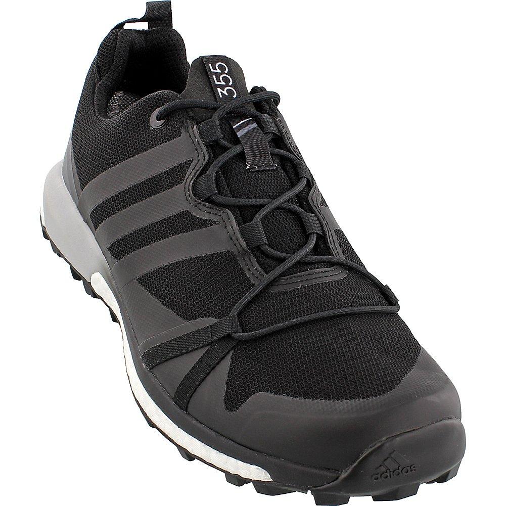 Image of adidas outdoor Adidas Terrex Agravic GTX Shoe - Men's Black/Black/White 15 Trail Running