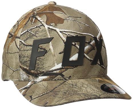 Amazon.com  Fox Men s Realtree Foxhead Flexfit Hat be3bd2bd037