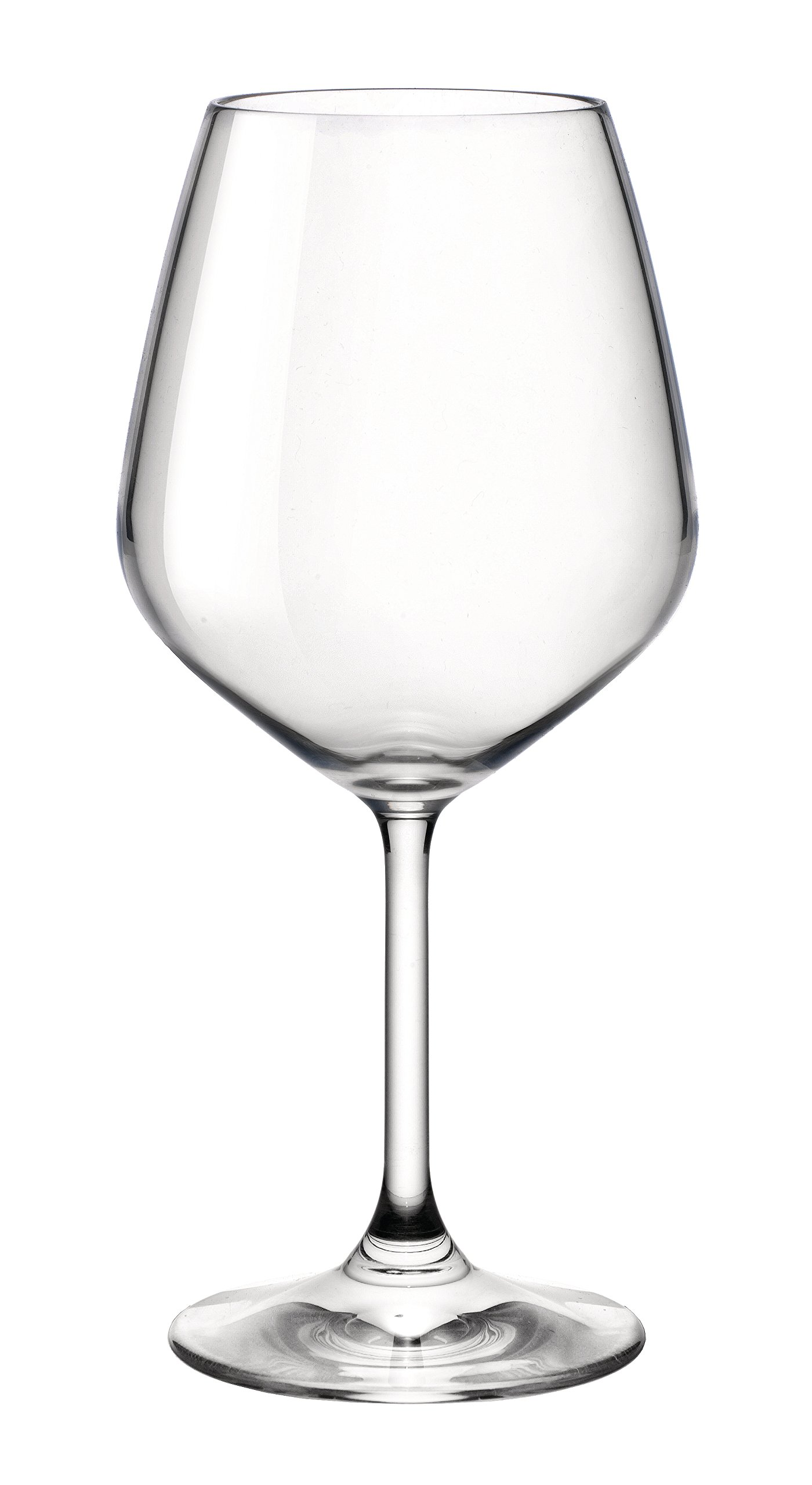 Bormioli Rocco 18oz Red Wine Glasses (Set Of 4): Crystal Clear Star Glass, Laser Cut Rim For Wine Tasting, Lead-Free Cups, Elegant Party Drinking Glassware, Dishwasher Safe, Restaurant Quality by Bormioli Rocco