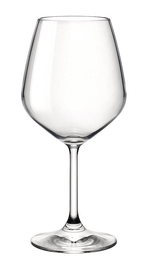 75d5ea53fd8 Bormioli Rocco Restaurant Red Wine Glass, Set of 4