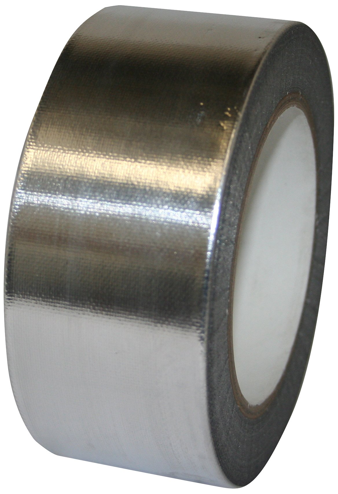 Maxi 1956ALG Aluminum Foil Heavy Duty HVOF Tape with Silicone Adhesive, 6.6 mil Thick, 36 yds Length, 1/2'' Width, Silver
