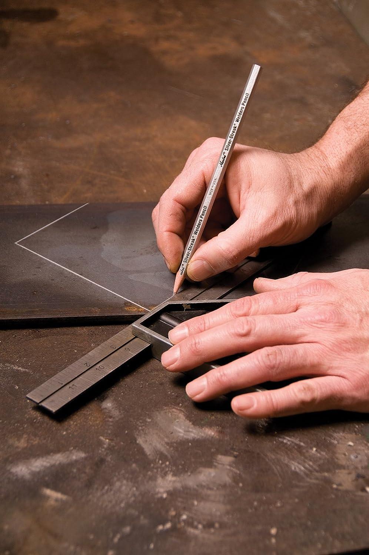 12 pezzi Markal 96101/silver-streak Welder Matita per saldatura