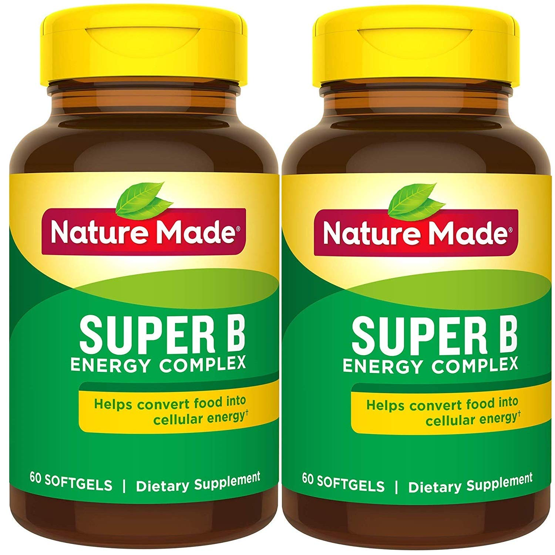 Nature Made Super B Complex Full Strength Mini Softgels