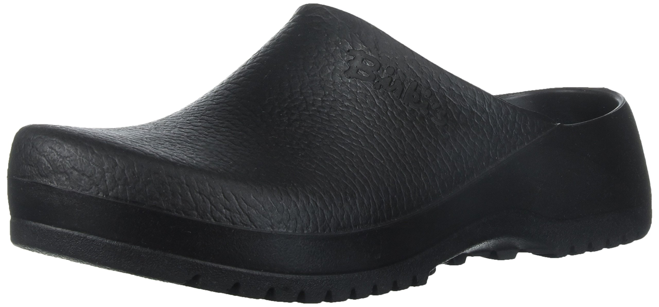 Birkenstock womens in Black from Polyurethane Synthetic-Clogs 38.0 EU W