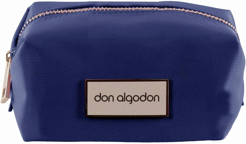 Don algodón Urban, Bolsa de viaje neceser mujer, Azul Marino, 13x7x5 cm: Amazon.es: Zapatos y complementos