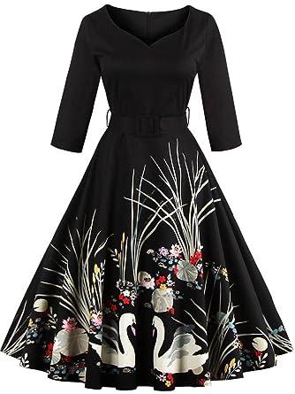 Babyonlinedress Short Vintage Wedding Guest Dresses For Women Special Occasion BlackS
