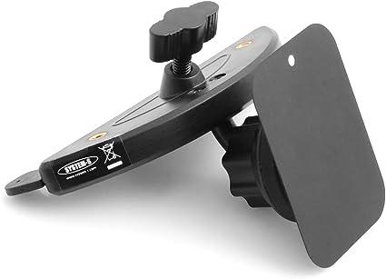 System S Auto Kfz Universal Cd Schlitz Halterung Halter Handyhalterung Magnetisch 360 Grad Rotation Für Smartphone Mobile Geräte Elektronik