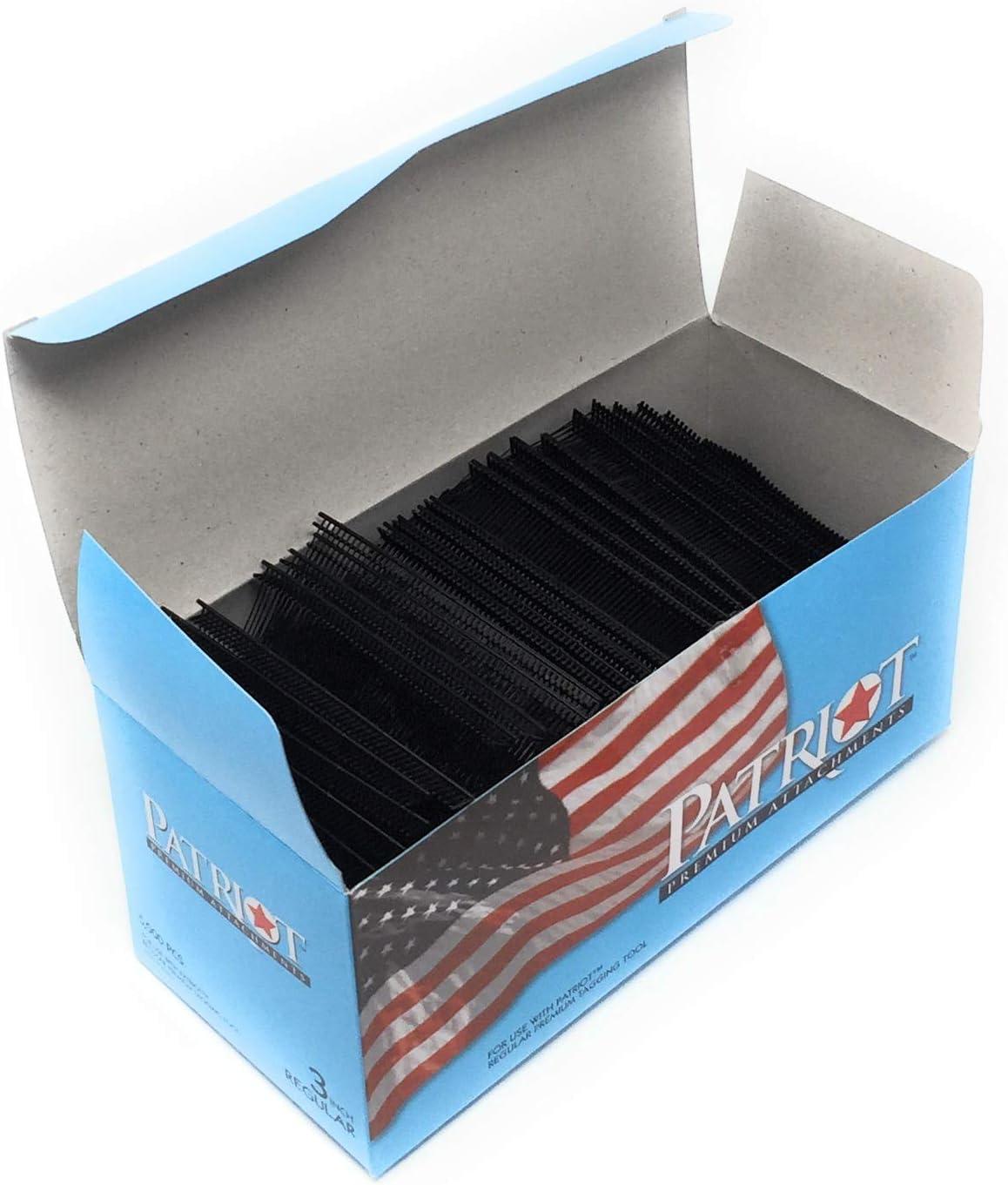 """5000 pcs 3/"""" Black Standard Tag Pins Regular Tag Barbs Tagging Gun Fasteners"""