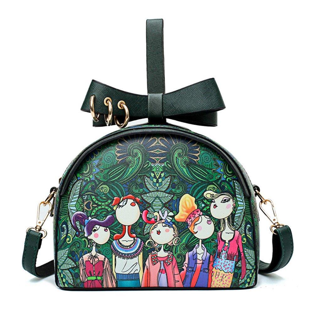 c18a6f6dfd6fa Meaeo Runde Taschen Crossbody-Tasche Für Frauen Tasche Handtasche Dame  Handtasche Bolsas Eine Femme De Marque  Amazon.de  Koffer