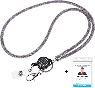 High Quality Rhinestone Lanyard Diamante Extra Long Lanyard ID Card Mobile Phone