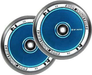 Root Air Nero Completo Ruote monopattino freestyle Pacco da 2 (110mm - Blu) Root Industries 9350759037675