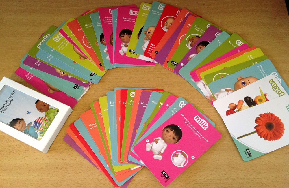 Baby Sign and Learn ASL Flash Cards by Baby Sign and Learn