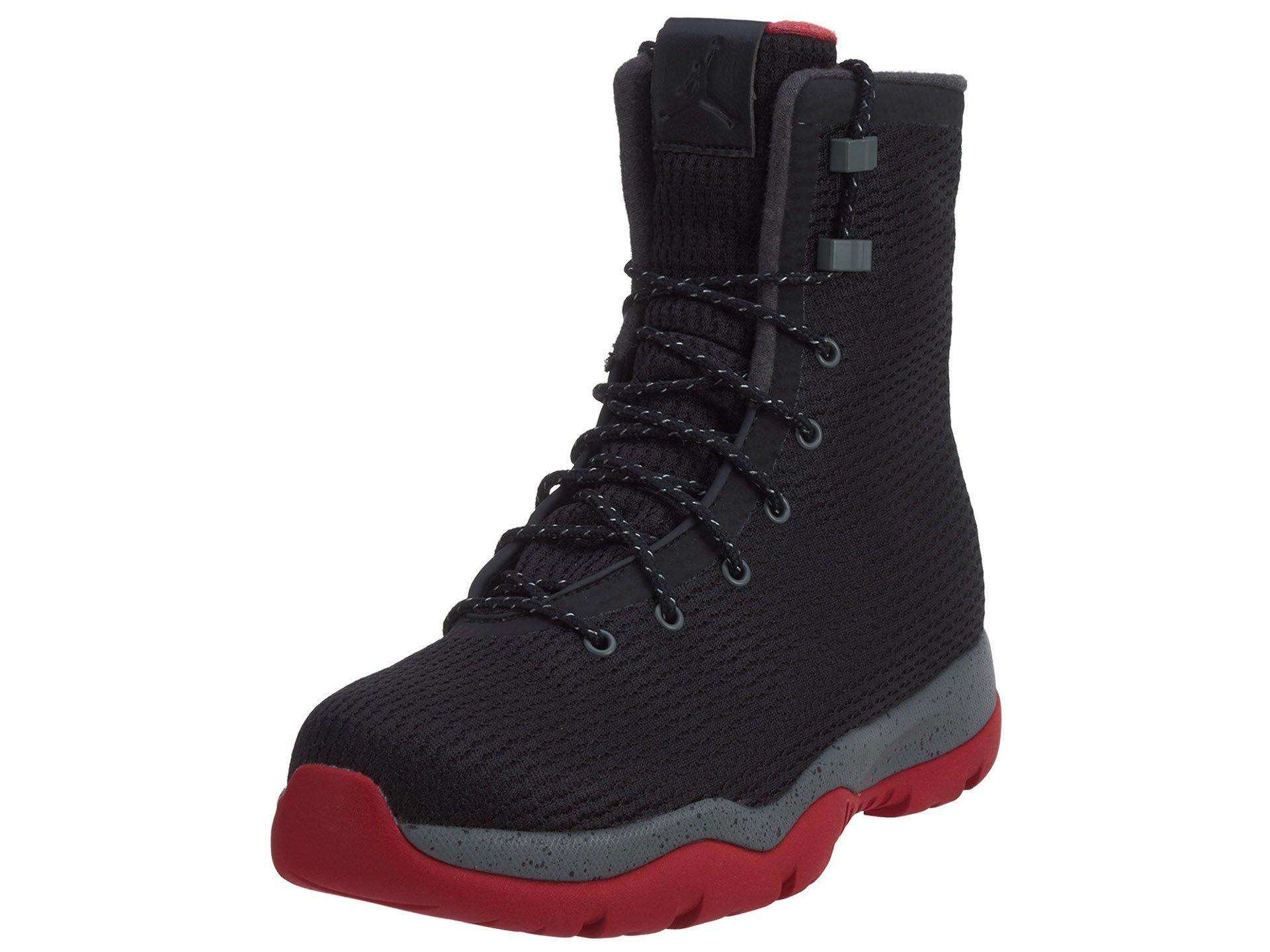 Nike Mens Jordan Future Boots Black/Cool Grey/Gym Red 854554-001 Size 10.5 by Jordan