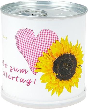 Día de la Madre Flor grüße Corazón – Lata con flor girasol – Todo ...