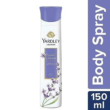 Yardley English Lavender Body Spray For Women, 150ml